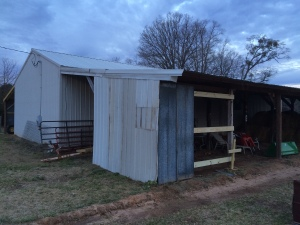 Brooder shed